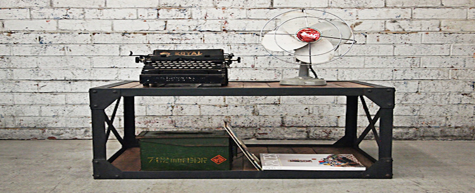 Holy Funk: Industrial furniture at your doorstep