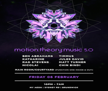 Motion:Theory:Music Party