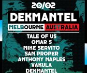 Dekmantel in Melbourne