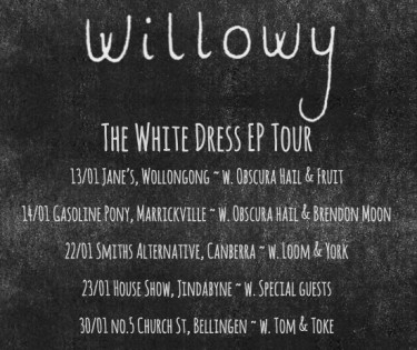 Willowys White Dress Tour