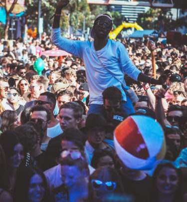 How 4,000 People Gathered In Melbourne CBD For A Party