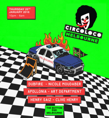 Circoloco Returns To Melbourne For One Night Only