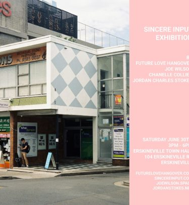 The Sincere Input Exhibition Is Happening For One Day Only